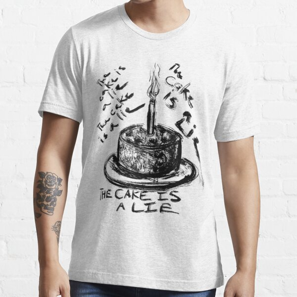 The Cake is a Lie Essential T-Shirt