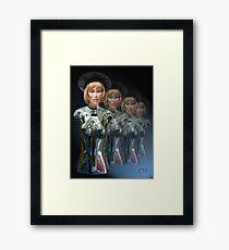 Cyborgs on Parade Framed Print