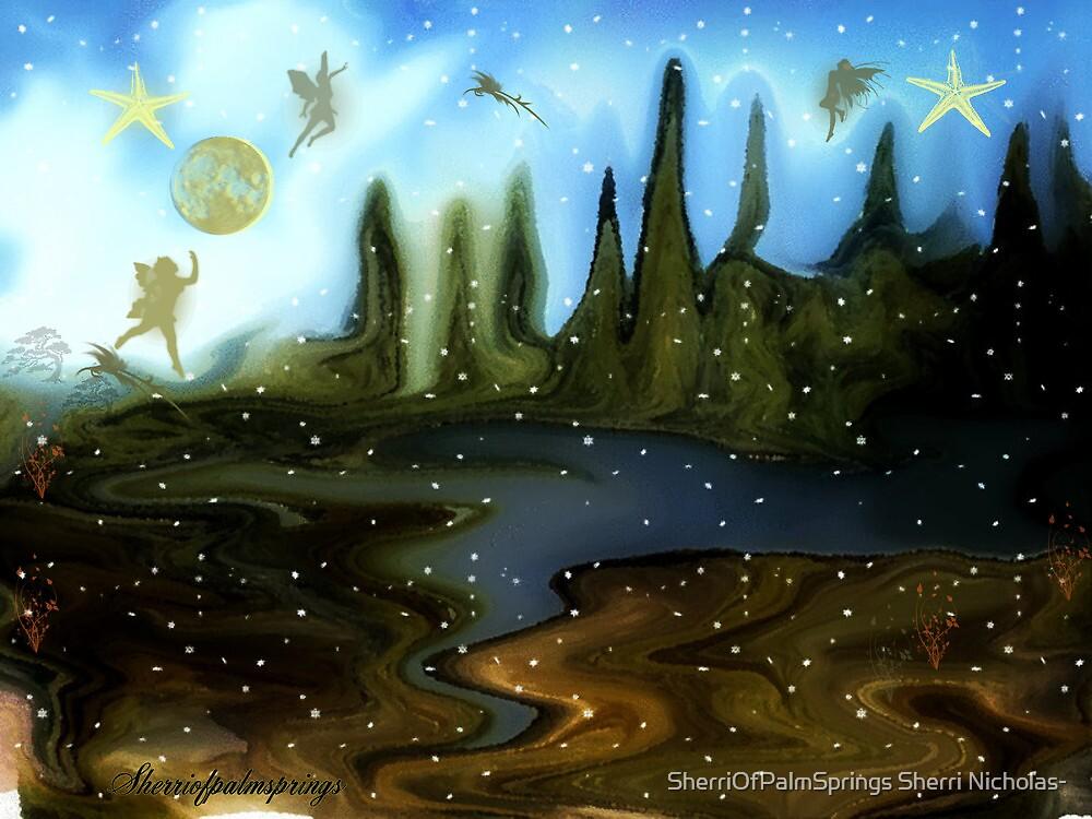LAND OF THE FAIRIES by SherriOfPalmSprings Sherri Nicholas-