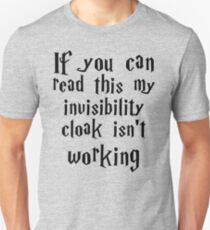 Invisibility cloak clothing T-Shirt