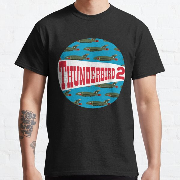 Thunderbird 2 Aircraft Thunderbirds TV Original Series Virgil Tracy Classic T-Shirt