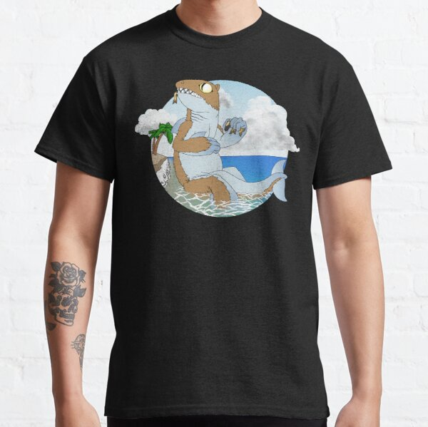 Alien At The Beach Classic T-Shirt