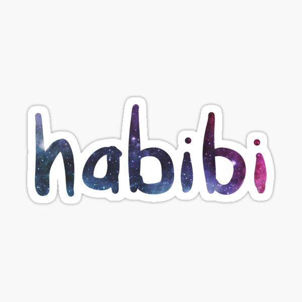 Habibi - Arabic Word - My love Sticker
