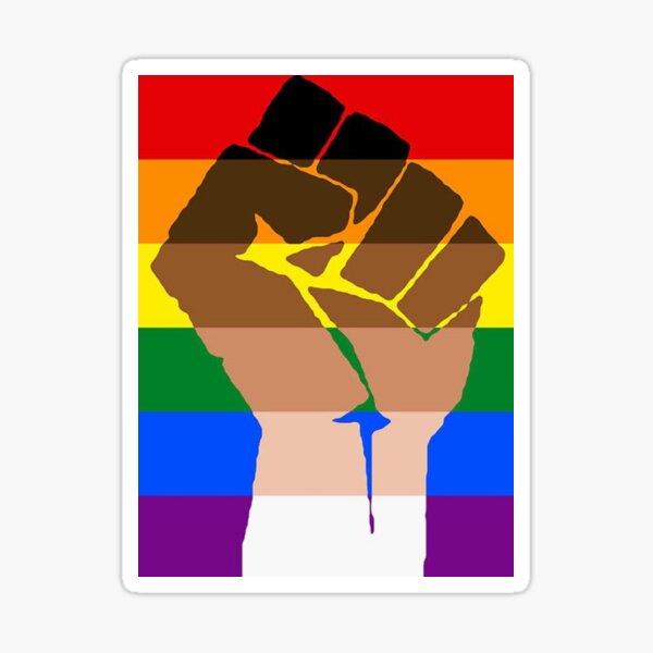 Black Lives Matter Pride Sticker