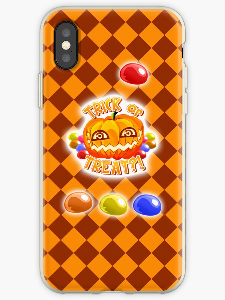 iphone xs case pumpkin