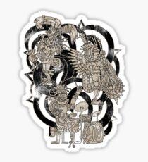 Ancient Jazztecs Sticker
