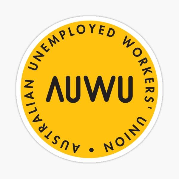 Classic AUWU Dot Logo Sticker Sticker