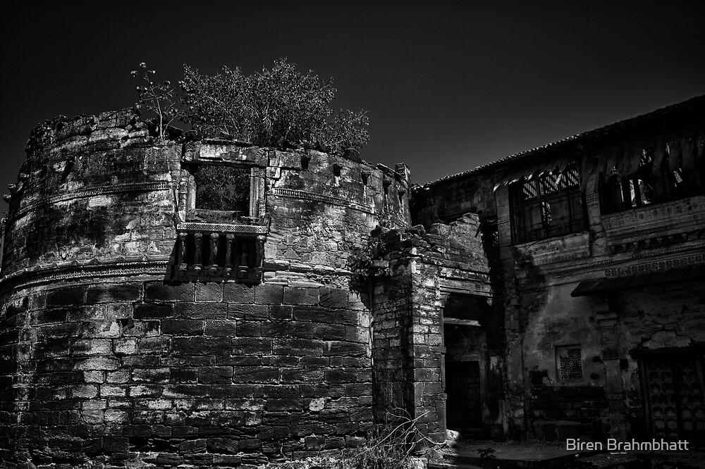 Memories of glorious past - B&W by Biren Brahmbhatt