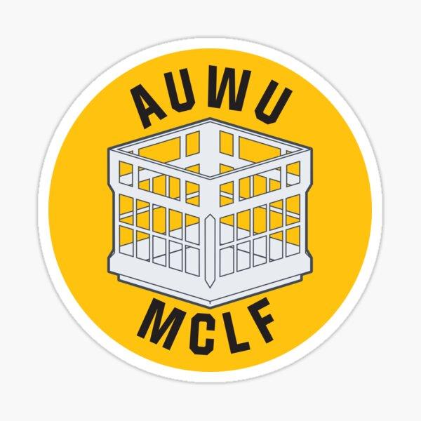 AUWU MCLF Sticker Sticker