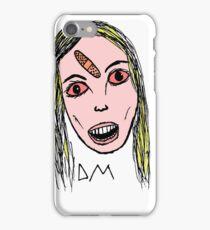 blonde girl iPhone Case/Skin