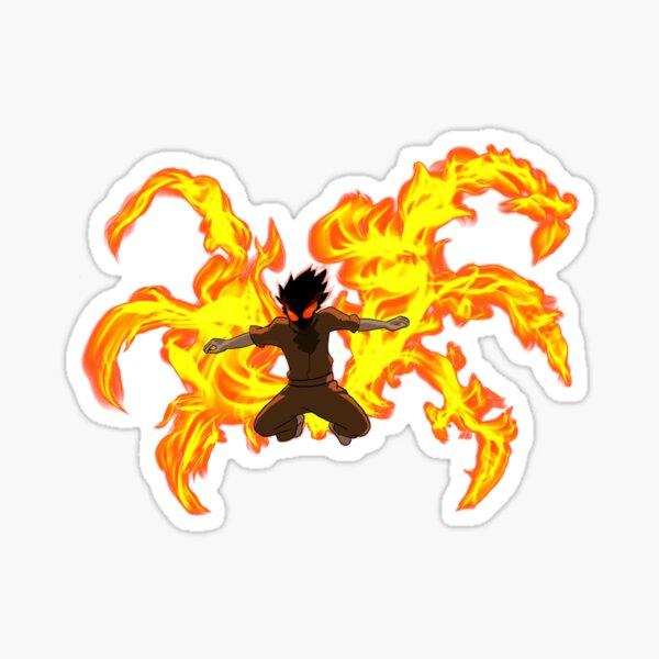 Fuerza de fuego Shinra Kusakabe Pegatina