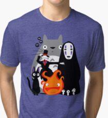 Ghibli'd Away Tri-blend T-Shirt