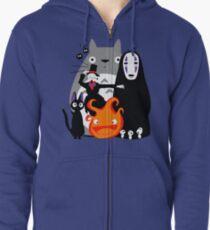Ghibli'd Extérieur Veste zippée à capuche