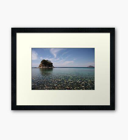 Paolina Island Framed Print