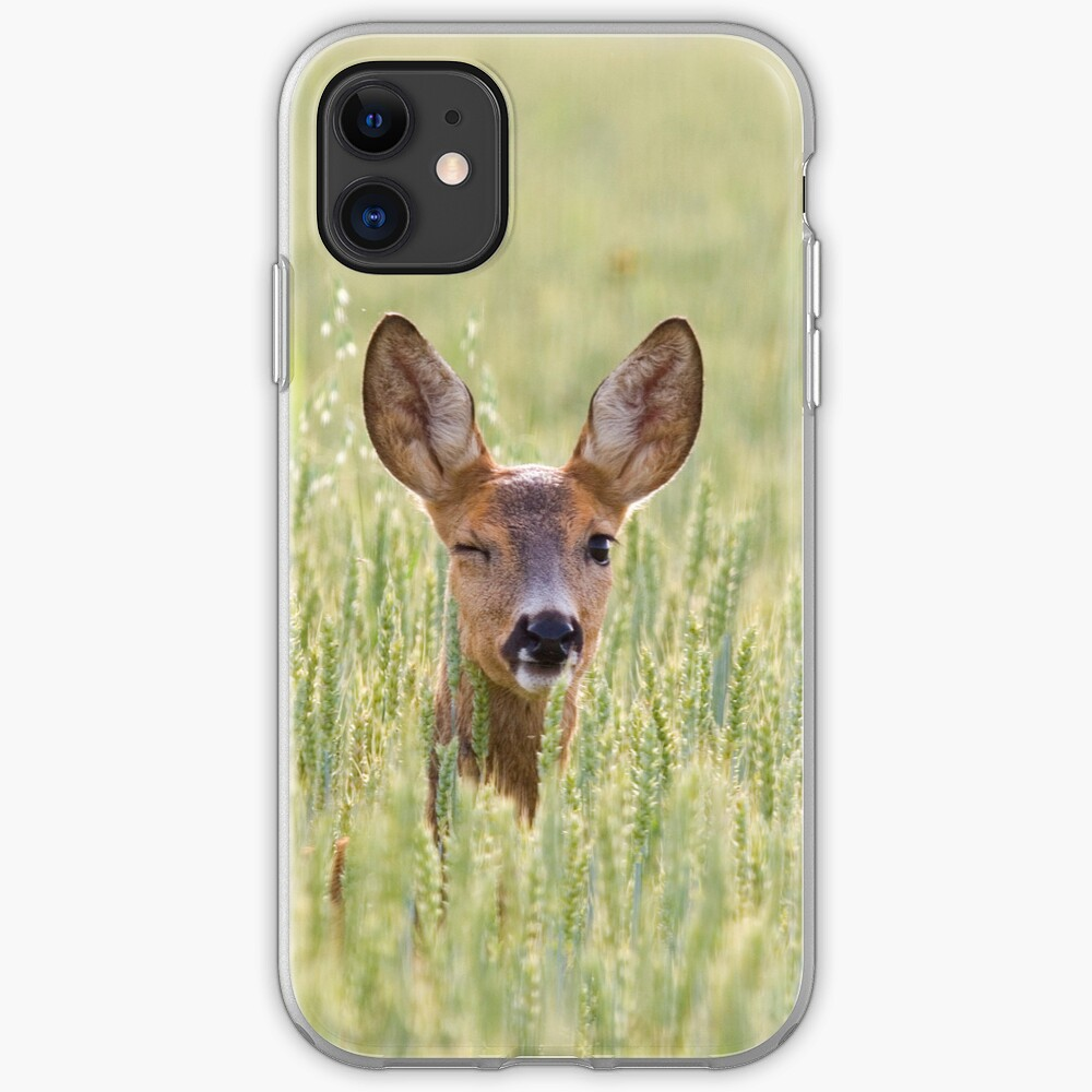 Winking deer [iPhone/iPod case] iPhone Case & Cover