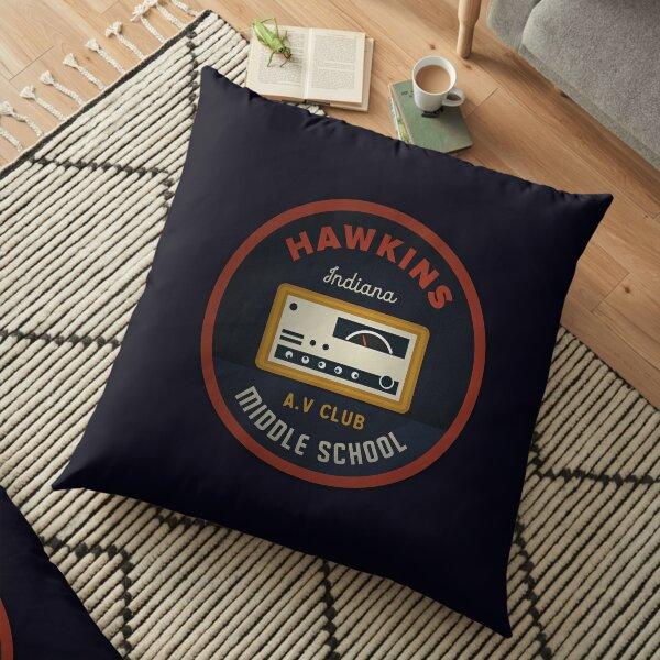 Hawkins AV Club Floor Pillow