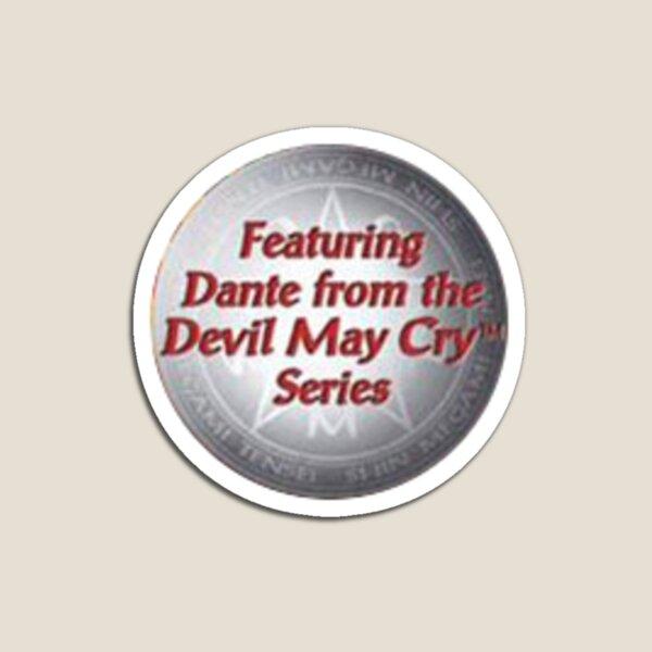 con Dante de la serie Devil May Cry Imán