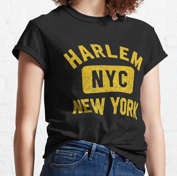 Harlem NYC Gym Style Distressed Amber Print Classic T-Shirt