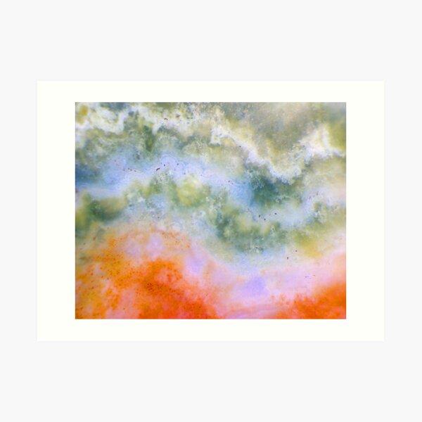 Stormy Skies (Ocean Jasper) Art Print
