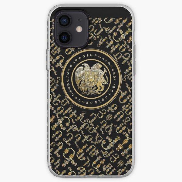 Alphabet & Coat of Arms  Այբուբեն և զինանշան iPhone Soft Case