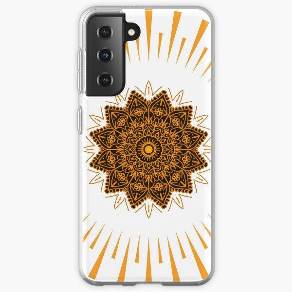 Sun Mandala, Sun Meditation Samsung Galaxy Soft Case