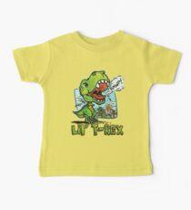 Little T Rex Dinosaur Baby Tee