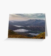 View of Grasmere with Herdwick Sheep Greeting Card