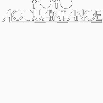 YoyoAcquaintance Distort White by yoyoacq