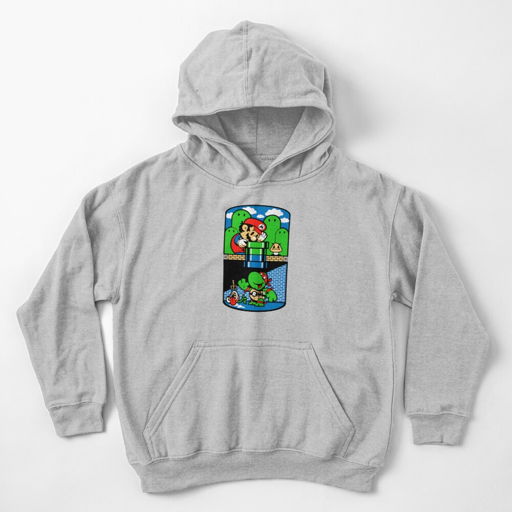 Help a Brother Out Kids Pullover Hoodie
