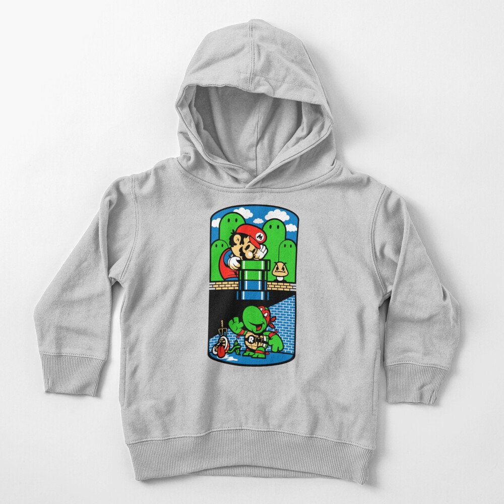 Help a Brother Out Toddler Pullover Hoodie