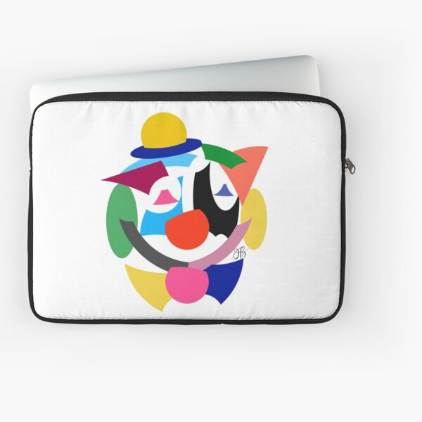Abstract Clown Laptop Sleeve