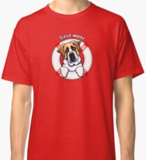 Saint Bernard :: First Mate Classic T-Shirt