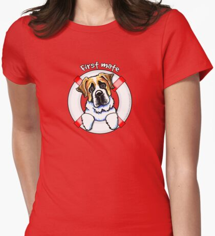 Saint Bernard :: First Mate T-Shirt
