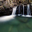 Honey Hollow - Swimming Hole by Stephen Beattie