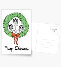 Teen Wolf Christmas  Postcards