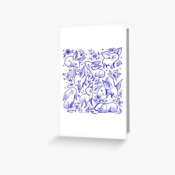 Delft Nugs Greeting Card