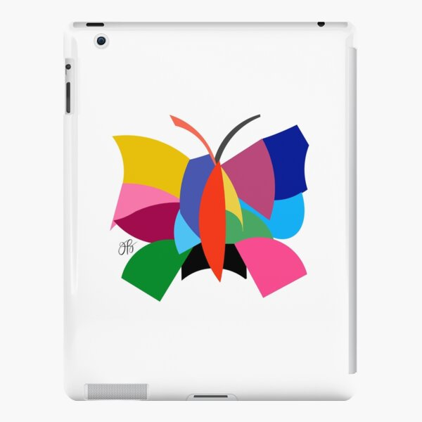 Abstract Butterfly iPad Snap Case