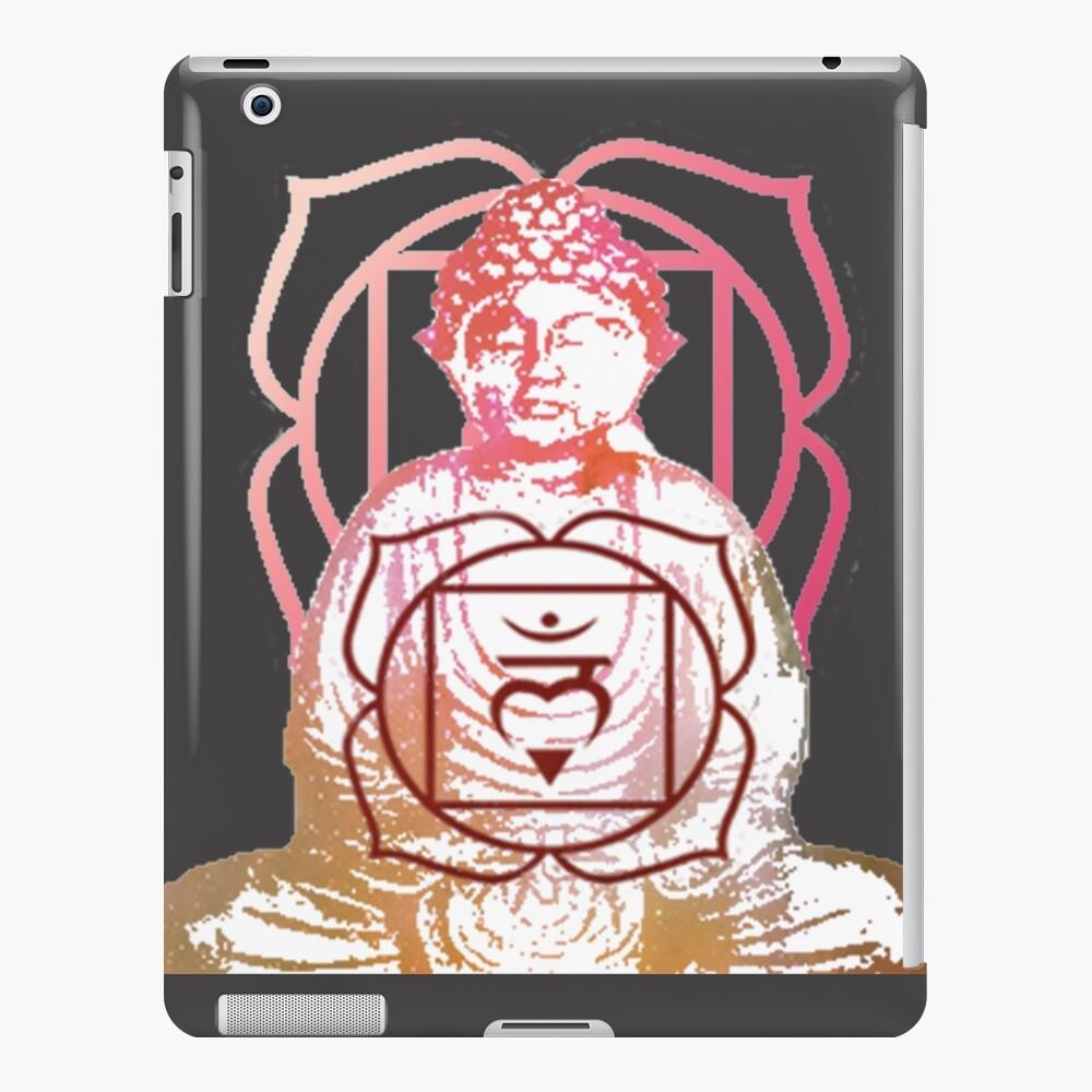 Buddha und Wurzel Chakra iPad-Hülle & Skin