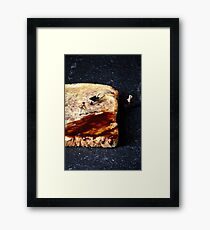 Marmite and toast Framed Print