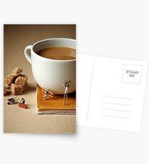 Builders tea Postcards