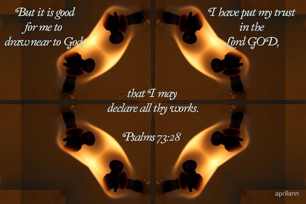 Draw Near to God by aprilann
