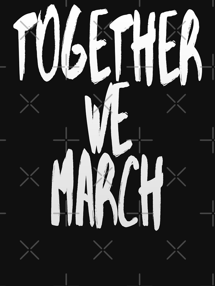 Together We March (We Want Change • Motivational Speech) by SassyClassyMe