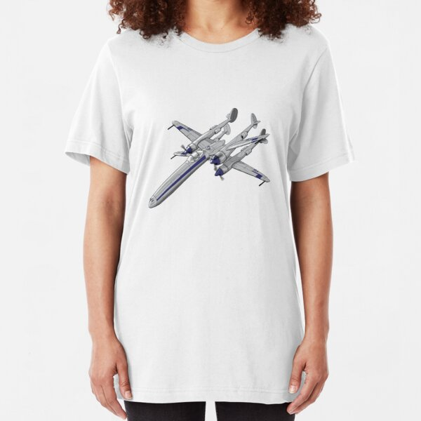 X Plane Slim Fit T-Shirt