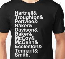 All Doctor - Hartnell to Smith, Whitout Hurt Unisex T-Shirt