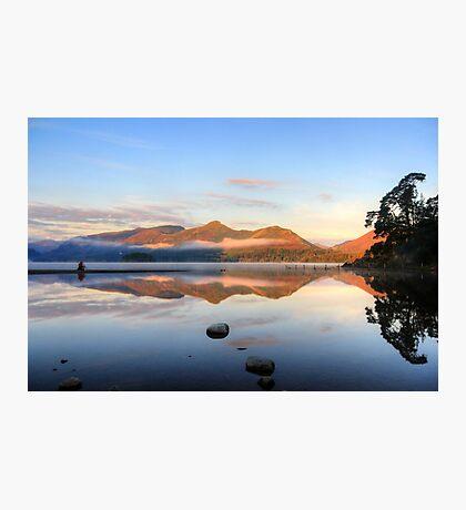 The lone photographer Photographic Print