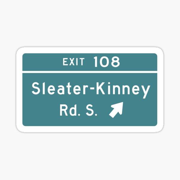 Sleater-kinney Intersection Sticker