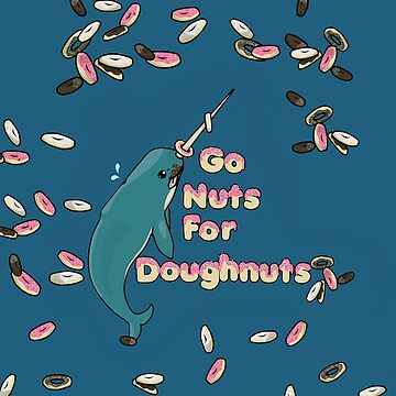 Go Nuts For Doughnuts iphone Case by Toptheundead