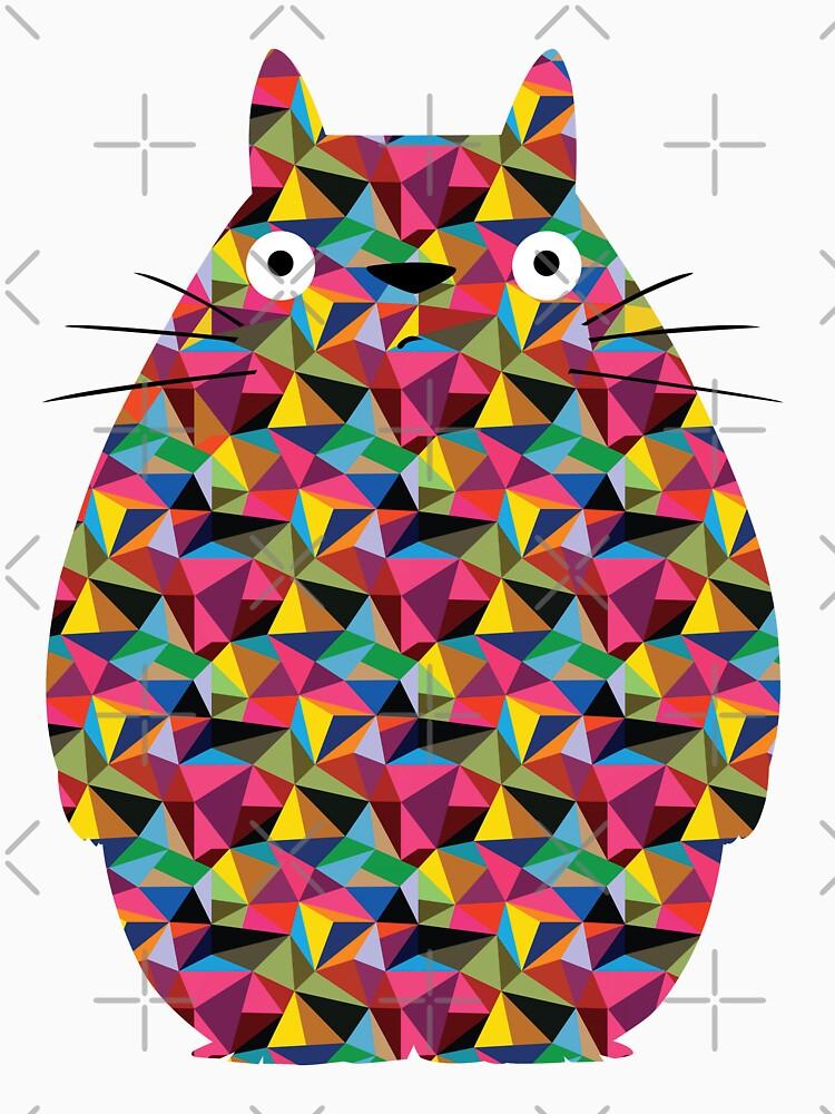 Mosaic Totoro | Unisex T-Shirt