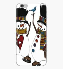 Snow Play iPhone Case
