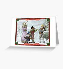 Solstice Carols! Greeting Card